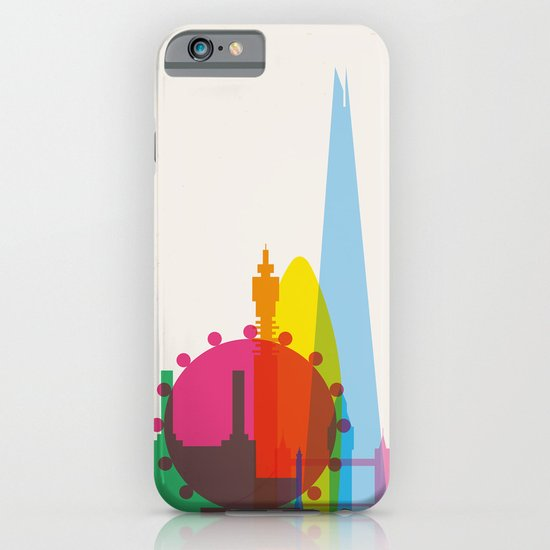 Shapes of London. Accurate to scale iPhone & iPod Case