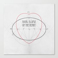 Total Ellipse Of The Hea… Canvas Print