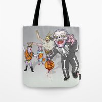 Trick Or Tremble Tote Bag