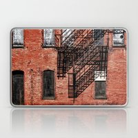 Tenement facade  Laptop & iPad Skin