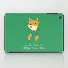 bush shiba iPad Case