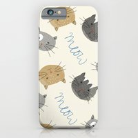 iPhone & iPod Case featuring Cats Cats Cats by Hannah Stevens