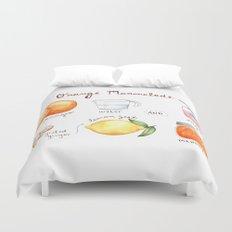 Marmalade Duvet Cover