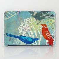 Birds in the backyard. iPad Case