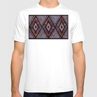 Wildly Exaggerated F. Mens Fitted Tee White SMALL