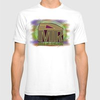Design My Revolution Mens Fitted Tee White SMALL