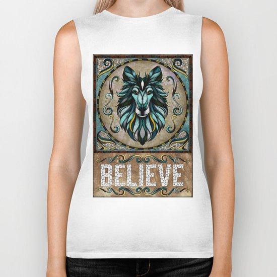 Believe Biker Tank