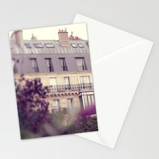 paris charm Stationery Cards