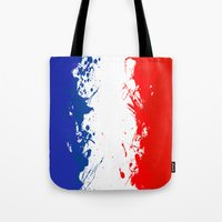 in to the sky, France  Tote Bag