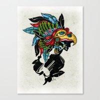 Upsilon Warrior Canvas Print