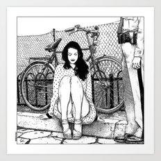 Apollonia Saintclair 592… Art Print