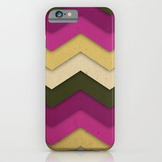 Flower Field Chevron iPhone 6s Slim Case