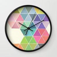 Fragmented Wall Clock