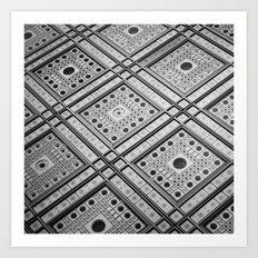 IRIS WALL Art Print