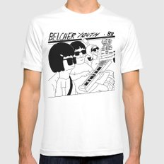 Bob's Burgers x Sonic Youth SMALL Mens Fitted Tee White