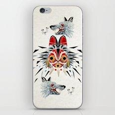 mononoke princess iPhone & iPod Skin