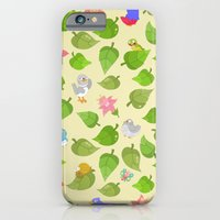 birds&leaves iPhone 6 Slim Case