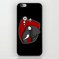 FIGHT OR FLIGHT iPhone & iPod Skin