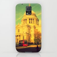 Galaxy S5 Cases featuring St Paul's Cathedral, London by Mr and Mrs Quirynen