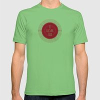 awesome Mens Fitted Tee Grass SMALL