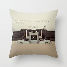 If. Throw Pillow