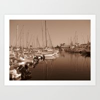 The Harbour Art Print