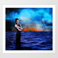At the Breaking Point Art Print