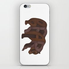 Bears Typography iPhone & iPod Skin