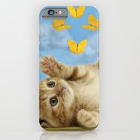 iPhone & iPod Case featuring Kitty Wonder by C...
