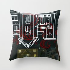 Hell's Paradise (no text) Throw Pillow