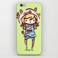 Finn The Human iPhone & iPod Skin