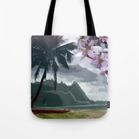 The Storm is Passing Tote Bag