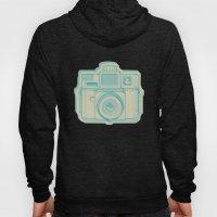 I Still Shoot Film Holga Logo - Turquoise/Tan Hoody