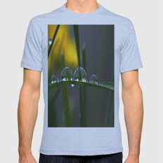 GREEN ART Mens Fitted Tee Athletic Blue SMALL