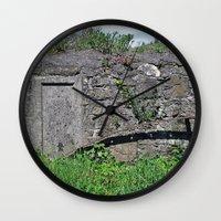 Churchyard Wall Wall Clock