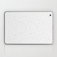 Squares white Laptop & iPad Skin