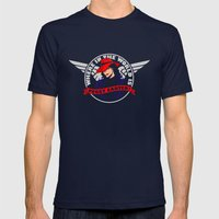 Where in the World is Peggy Carter? Mens Fitted Tee Navy SMALL