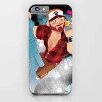 iPhone & iPod Case featuring Bear Kong by Dronio