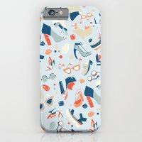 Shoe Craze Pale Blue iPhone 6 Slim Case