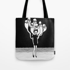 Monster Don't Sleep Unde… Tote Bag