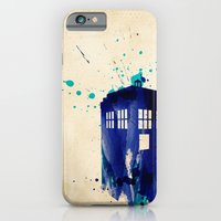 iPhone & iPod Case featuring Doctor Who TARDIS Rustic by Colin Capurso
