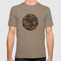 Favela Mens Fitted Tee Tri-Coffee SMALL