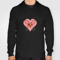 Clip Heart Valentine Hoody