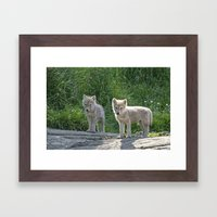 Now who is the Angel Framed Art Print