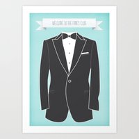 Welcome to the fancy club Art Print