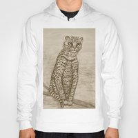 Ocelot Watching, by Ave Hurley Hoody
