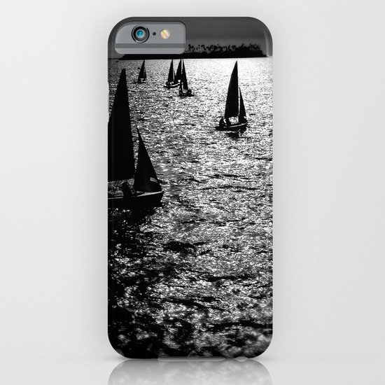 Sailing Silhouettes iPhone & iPod Case