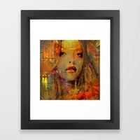 Look For A Taxi Framed Art Print