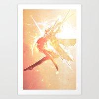 Fallen Angel Art Print