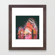 ADJUST (01.20.16) Framed Art Print